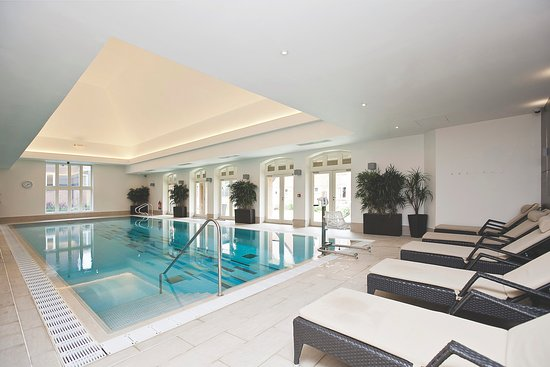 Loungers by the Pool at Richmond Letcombe Regis Wellness Spa