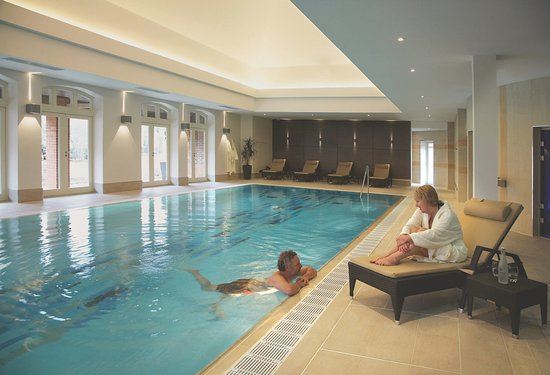 The Swimming Pool at Richmond Letcombe Regis Wellness Spa