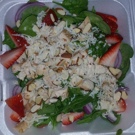 Nitro, WV: Chicken strawberry salad ( in season)