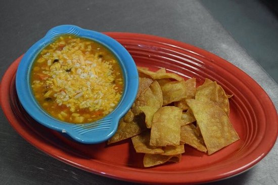 Nitro, WV: Chicken tortilla soup and fresh chips