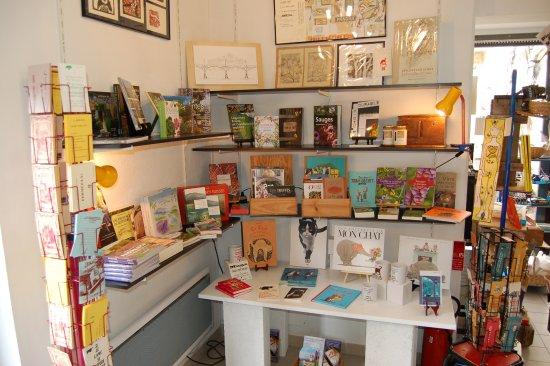 La librairie colophon foto di colophon maison de l for Libraire maison