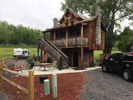 Herkimer, NY: treehouse cabin