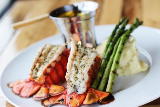 The Hunt Club Steakhouse : Twin Lobster Tails