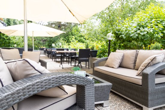 Grunberg, Germany: Terrasse