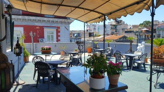 terrazzo Hotel Real orto Botanico - Picture of Hotel Del Real Orto ...