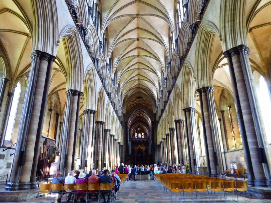 Salisbury Cathedral: In der Kathedrale