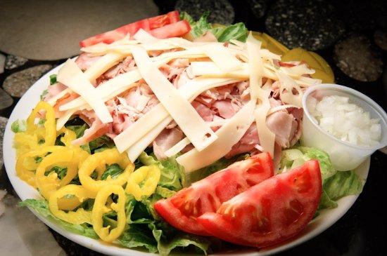 We'll Make Any Sandwich Into A Salad!