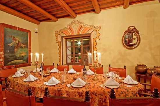 Hosteria Chorlavi Restaurant: Restaurante mesa imperial