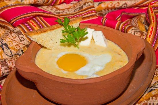 Hosteria Chorlavi Restaurant: Caldillo de Huevo