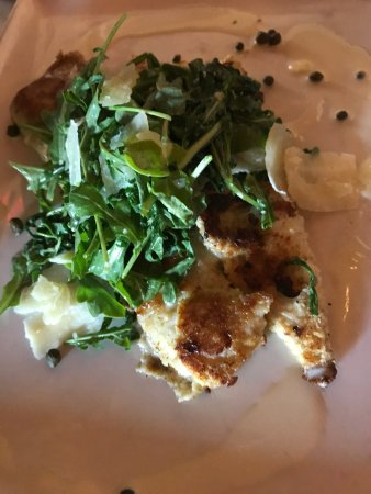 Market House on the Square: Crispy Lemon Sole with Argula & Lemon Caper Butter YAAASSS