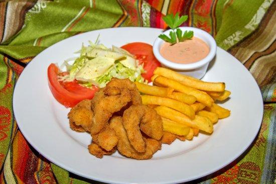 Hosteria Chorlavi Restaurant: Camarones Apanados
