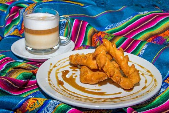 Hosteria Chorlavi Restaurant: Prístinos con Miel de Canela