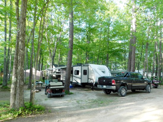Ossipee, NH: RV site