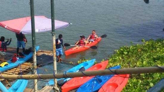 San Rafael, Philippines: river adventure