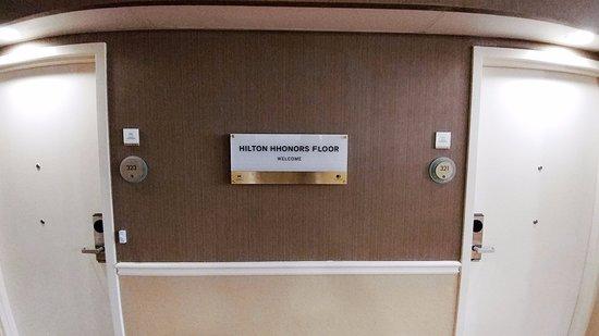 ร็อกกี้เมาท์, นอร์ทแคโรไลนา: Hilton Honors floor