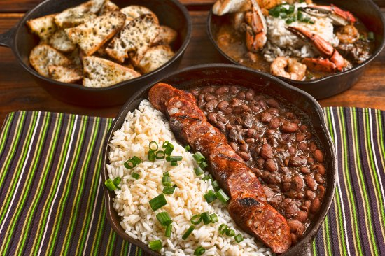 The Hut: Bayou Bar & Grille: Fan favorites include our Red Beans and Rice and Gumbo!