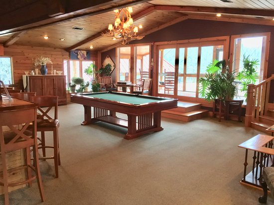 Lost River, WV: Our Billiards Room