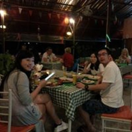 Lipa Noi, Thailand: enjoy dinner @mango tree restaurant & Bar, Koh Samui