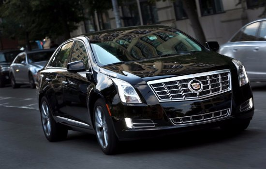 Mountain View, Californië: Our flee: Premium Cadillac XTS