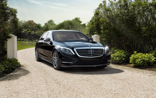 Mountain View, Californien: Our fleet: Mercedes Benz S550