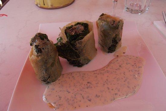 Saint-Remeze, France: Croustillant d'escargots