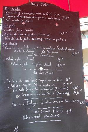 Saint-Remeze, France: la carte juin 2017