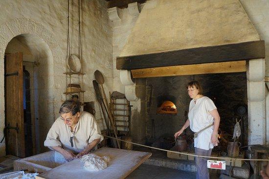 Chantier Medieval de Guedelon: la boulangerie