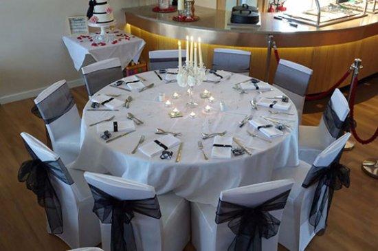 Highbridge, UK : Wedding Reception at The Windmill Bar & Bistro