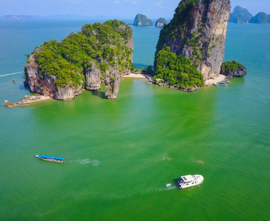 Chalong, Tajlandia: james Bond Island in Phang Nga Bay