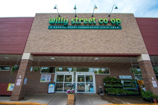 Middleton, WI: Willy Street Co-op West - front entrance