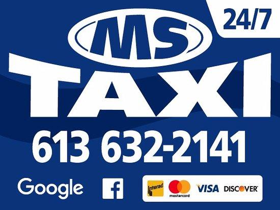 Hawkesbury, Canada: nous prenons la plus part des cartes de crédit et cartes de débit appeler votre taxi d'ès mainte
