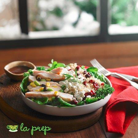Chicken Quinoa Meal Salad Picture Of La Prep Mississauga