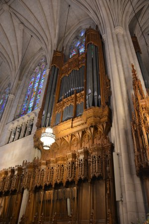 Duke University Chapel : Beautiful woodwork, especially in the choir.