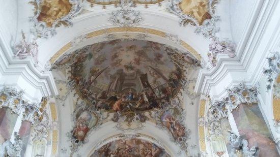 Benediktbeuern, Alemania: Deckengemälde Kloster Benediktbeuren