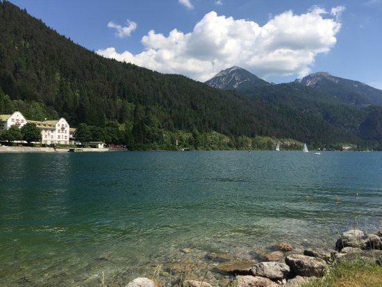 Achenkirch, Austria: Nordstrand Achensee