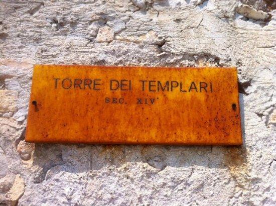 San Daniele del Friuli, Italien: Targa .... arrugginita dal tempo !