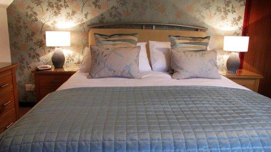 Forres, UK: Kingsize room en-suite (View 1)