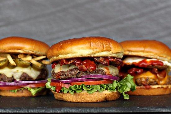 Edinburgh, IN: Hand Crushed Burgers