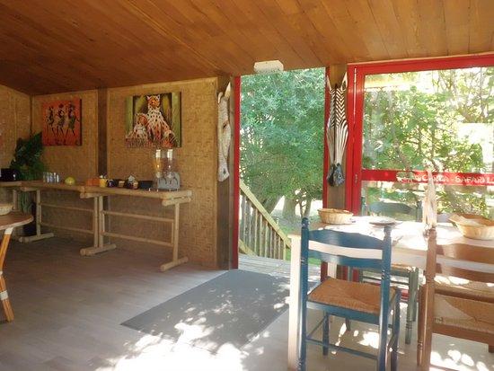 Hermival-les-Vaux, Frankrijk: Salle du petit déjeuner