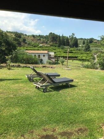 Zafferana Etnea, Italy: Outside of first room.