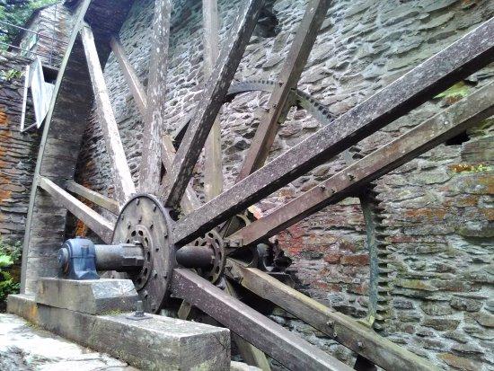 Machynlleth, UK: Dyfi Furnace Water Wheel