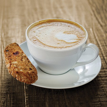 Image result for biscotti and cappuccino