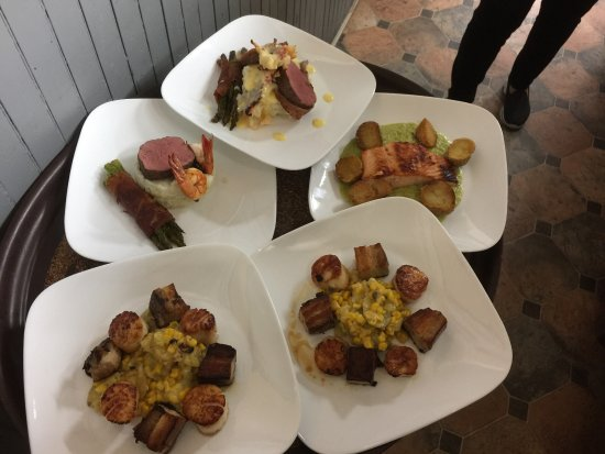 Greenwood Lake, Nowy Jork: Got some new Dishes @ The Continental