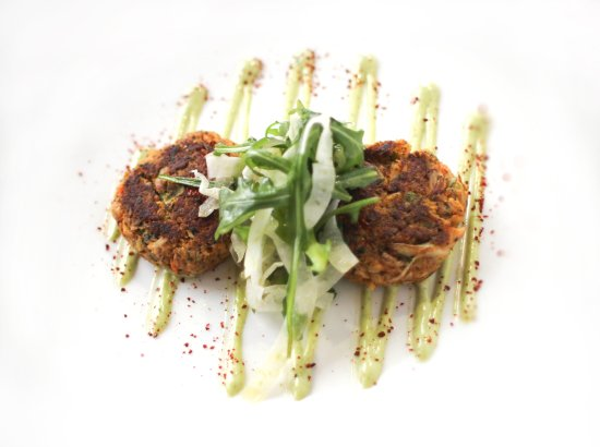 Burnsville, MN: Crab Cake with Key Lime Aioli