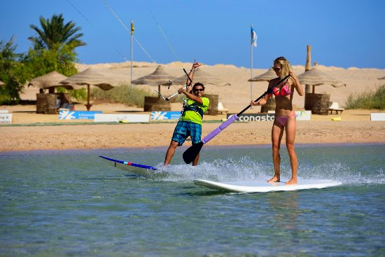 The Breakers Diving & Surfing Lodge: Kiting and SUP at the 7 Bft KiteHouse