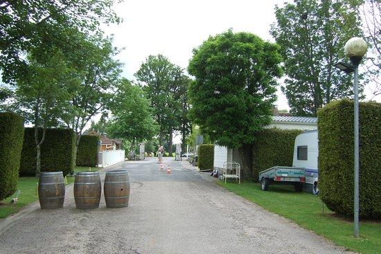 Saint Germain les Belles, فرنسا: Part of the camping area