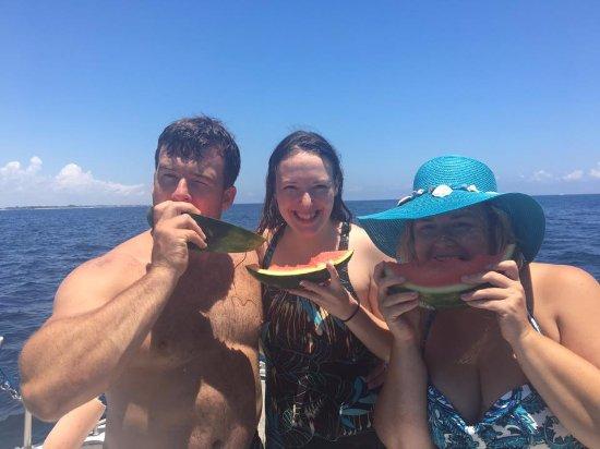 Boynton Beach, FL: Bubblers on a Boat