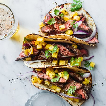 Kingston, Nova York: Steak Taco in corn tortillas