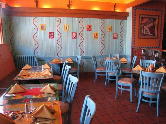 Kingston, NY: Cafe area
