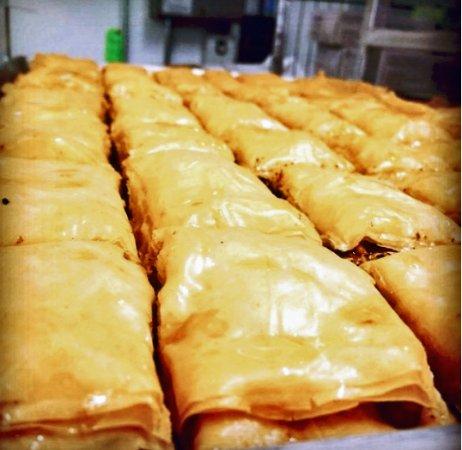 Medford, MA: Homemade Baklava